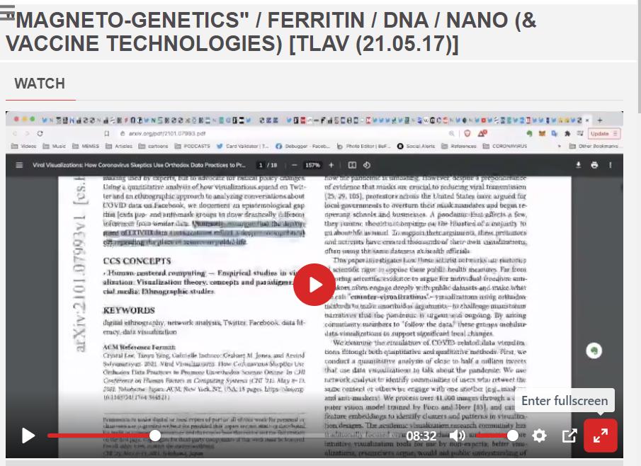 magneto genetics DNA Nano Vaccine